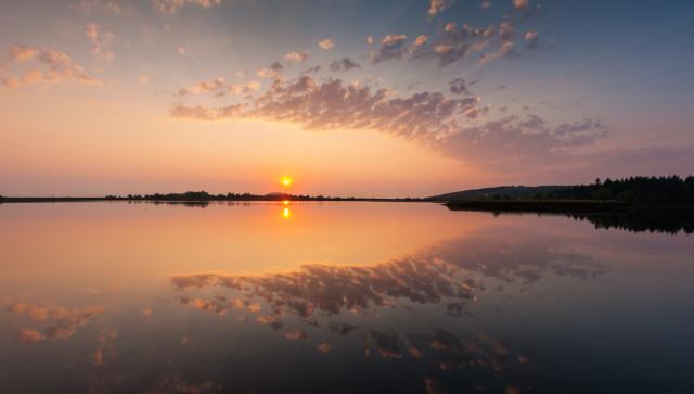 Sonnenaufgang Großer Galgenteich