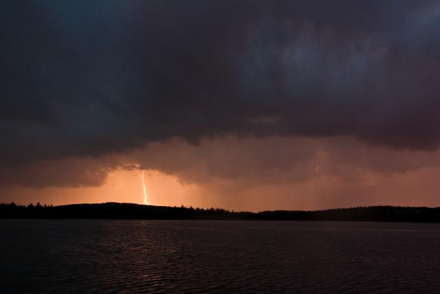 Gewitter über dem Großen Galgenteich