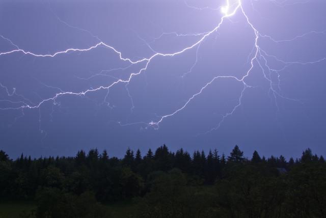 Blitz über Altenberg
