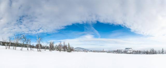 Winterlandschaft bei Altenberg