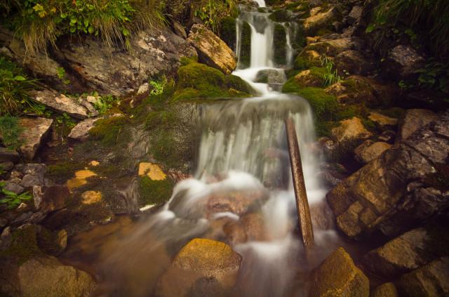 Wasserfall, Mittel Mechlistall