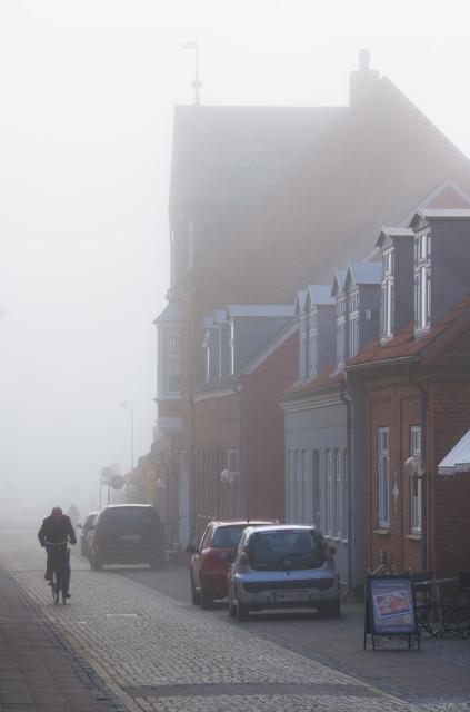 Straße in Ringkøbing