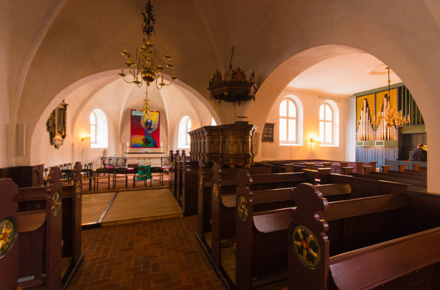 Ringkøbing Kirke (Innenansicht)