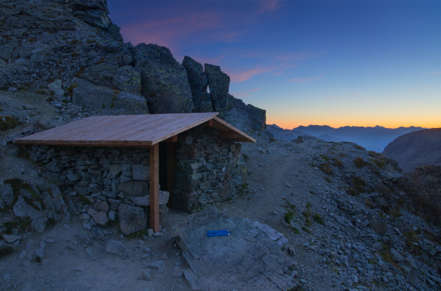 Schutzhütte Fuorcla Albana