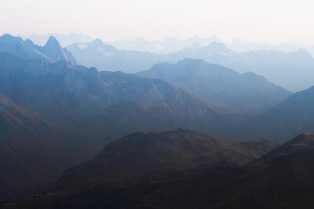 Blick vom Großen Widderstein nach Süden