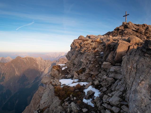 Großer Widderstein, Gipfel