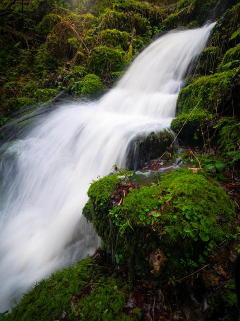 Wasserfall im Kohlerstal bei Altbulach