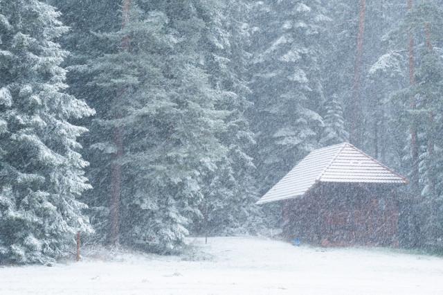 Winterimpression bei Hünerberg