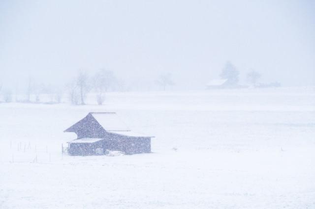 Winterimpression bei Würzbach