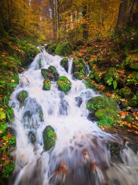 Wasserfall am Stollenbach
