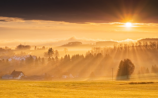 Sonnenaufgang bei Rötenbach
