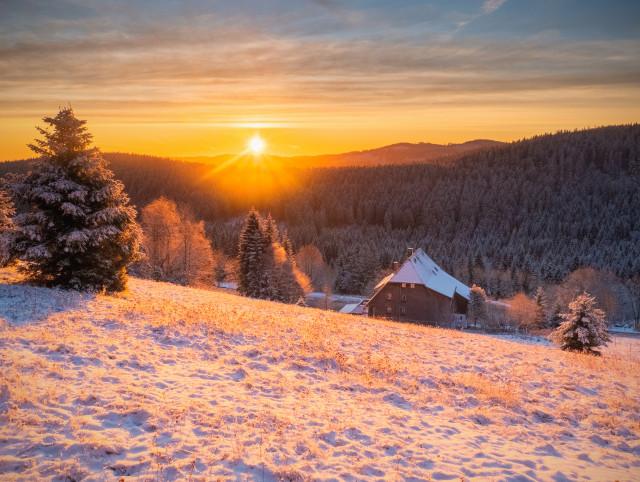 Sonnenaufgang, Rinken