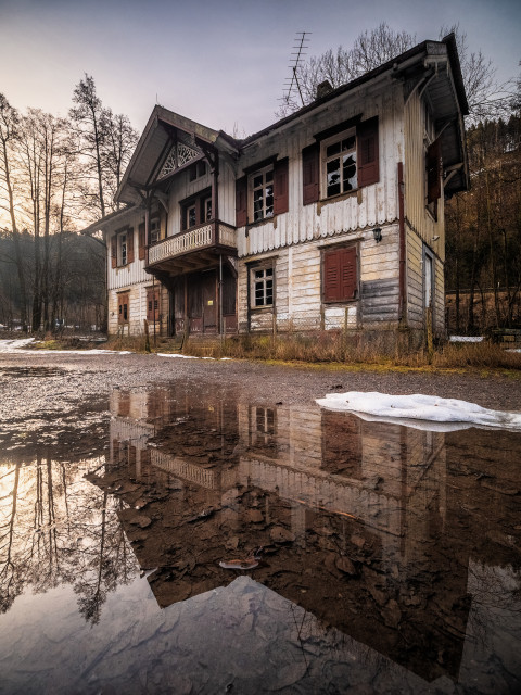 Lost Place im Höllental