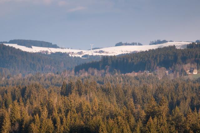 Blick auf Breitnau-Hinterdorf
