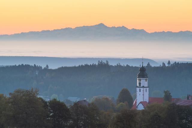 Alpenblick bei Grafenhausen